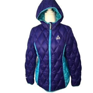 Gerry Turquoise Purple Down Jacket